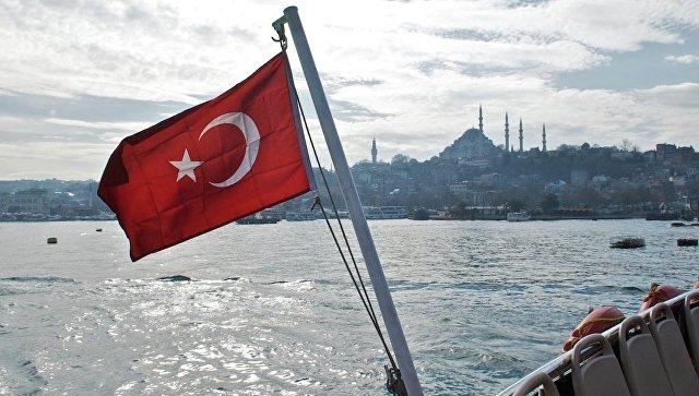 Флаг Турции. Архивное фото