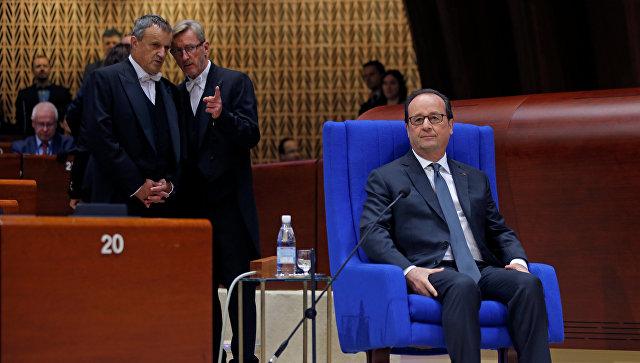 Олланд: Усилия поурегулированию кризиса наДонбассе должны быть удвоены