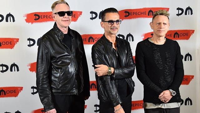 Группа Depeche Mode. Архивное фото