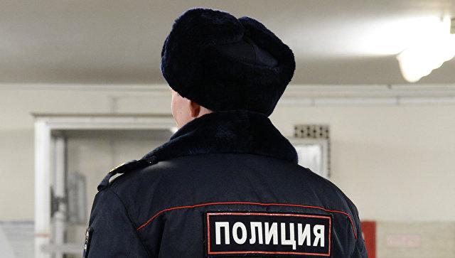 Полицейский на станции Московского метрополитена, Архивное фото