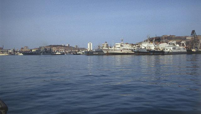 Владивосток — город и порт на Дальнем Востоке России. Архивное фото