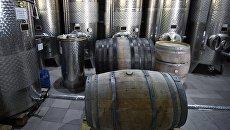 Винодельческое хозяйство в Крыму. Архивное фото