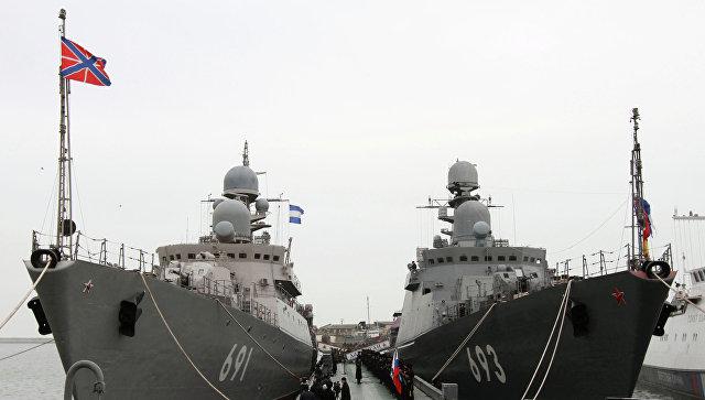 Оснащенные «Калибрами» русские корабли посетят Иран иКазахстан