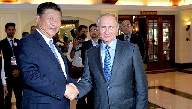 СиЦзиньпин отправил телеграмму сновогодним поздравлением Путину