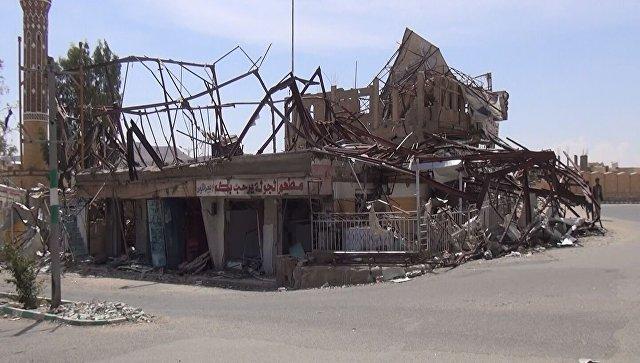 Разрушения в Йемене. Архивное фото