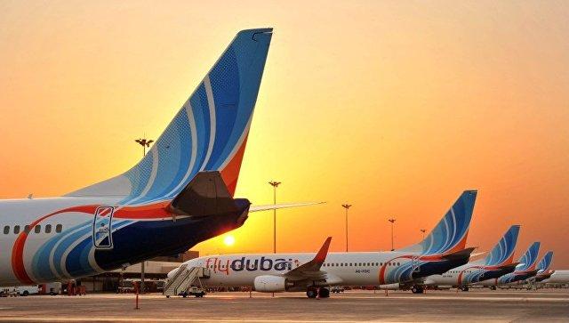 Самолеты авиакомпании-лоукостера Flydubai. Архивное фото