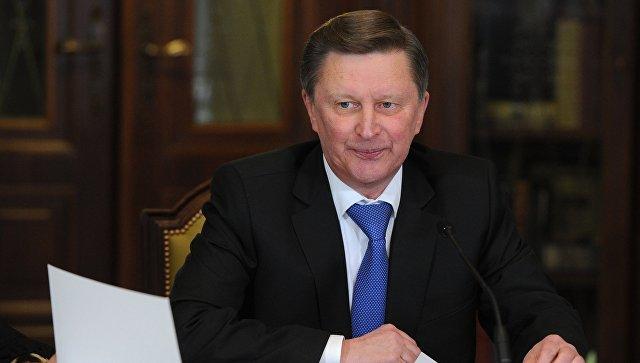 Руководитель администрации президента РФ С. Иванов. Архивное фото