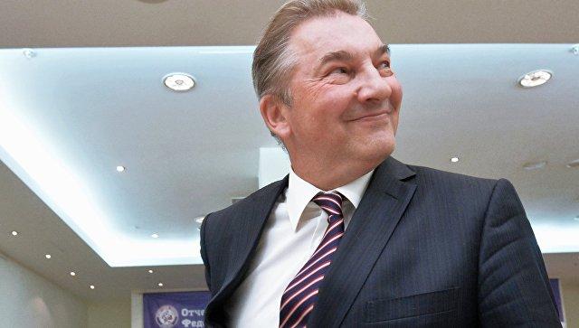 Президент Федерации хоккея России Владислав Третьяк. Архивное фото