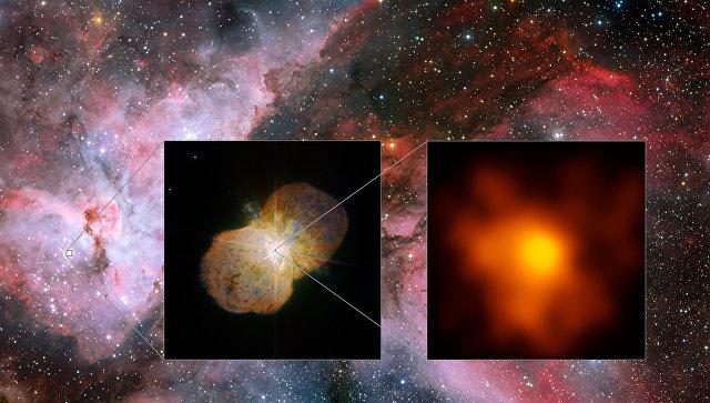 Ученые показали фото звезды данная Киля, которая может убить Землю