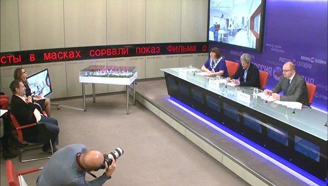 Пресс-конференция руководителей школы Летово о начале приема учеников