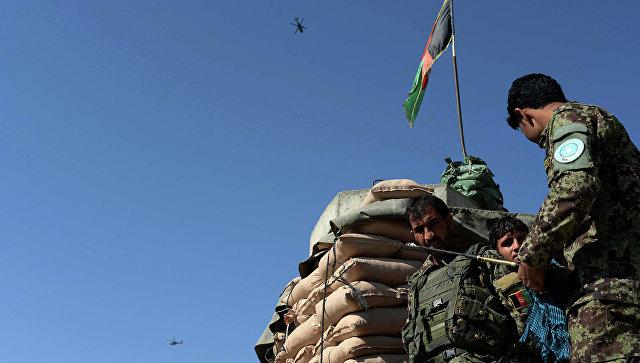 Рядом с платформой  НАТО вАфганистане убиты два американских советника