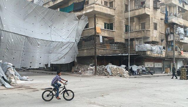Минобороны начало онлайн-трансляцию выхода боевиков извосточного Алеппо