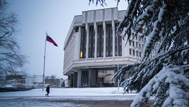 Здание Государственного Совета Республики Крым в Симферополе. Архивное фото