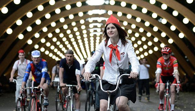 Осенний исторический велопробег пройдет в российской столице