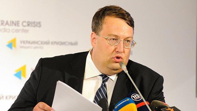 Советник министра внутренних дел Украины, депутат Рады Антон Геращенко. Архивное фото