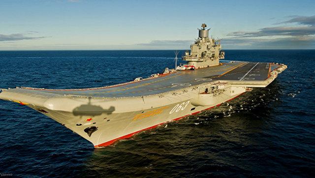 Авианосец Адмирал Кузнецов. Архивное фото