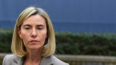 Главный уполномоченный Евросоюза по иностранным делам и политике безопасности Федерика Могерини. Архивное фото