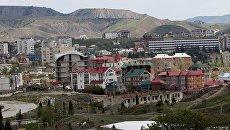 Города России. Крым. Судак. Архивное фото