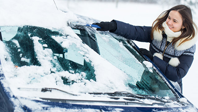 В столице России образовались большие пробки из-за прошедшего снегопада