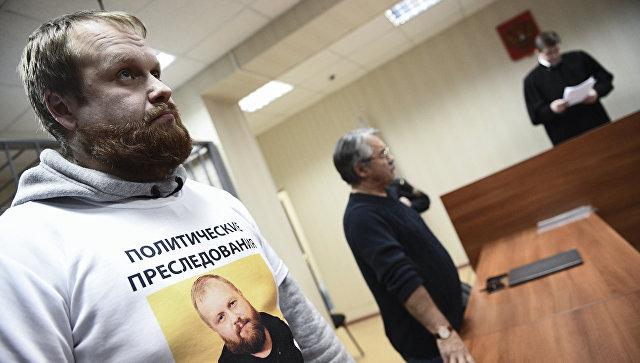 Националиста Демушкина приговорили вдвум годам колонии