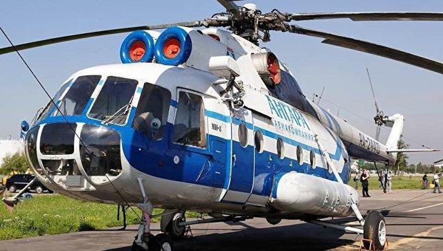 Наместе крушения Ми-8 найдены оба темных ящика