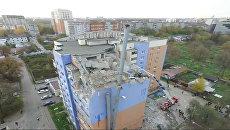 Взрыв газа произошел в жилом доме в Рязани. Кадры с места ЧП