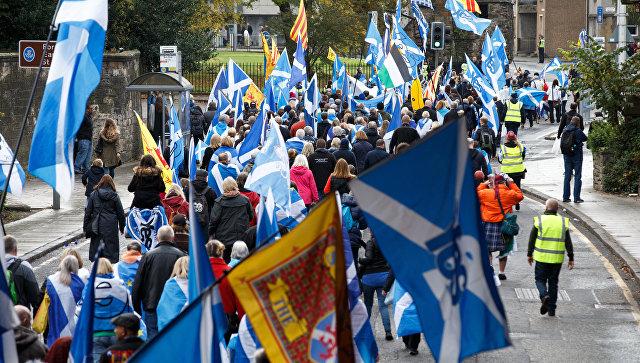 Мэй раскритиковала призыв вновь провести референдум онезависимости Шотландии