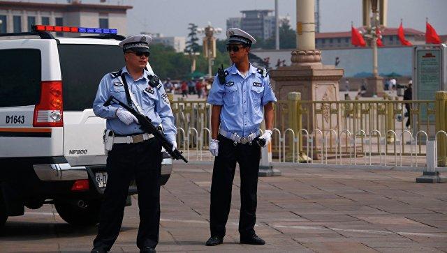 Работа полиции в Китае. Архивное фото
