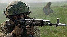 Военнослужащий подразделения специального назначения. Архивное фото