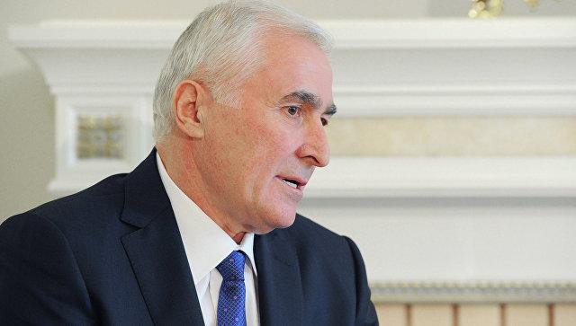Главой Южной Осетии Леонид Тибилов, архивное фото