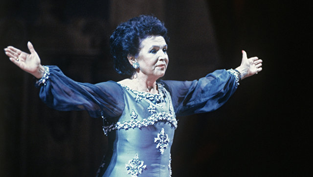 Оперная певица Галина Вишневская. Архивное фото