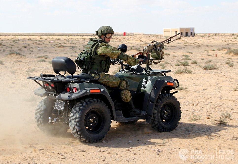 Впроцессе учений вЕгипте десантники отбили у«боевиков» населённый пункт