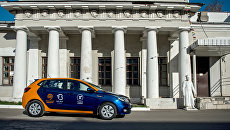 Автомобиль сервиса московского каршеринга Belkacar. Архивное фото