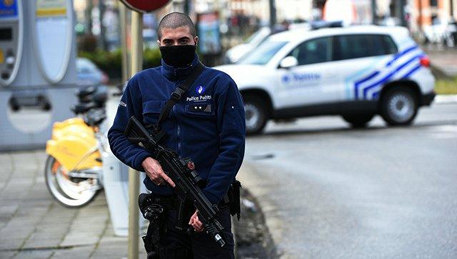 Сотрудник полиции Бельгии.Архивное фото