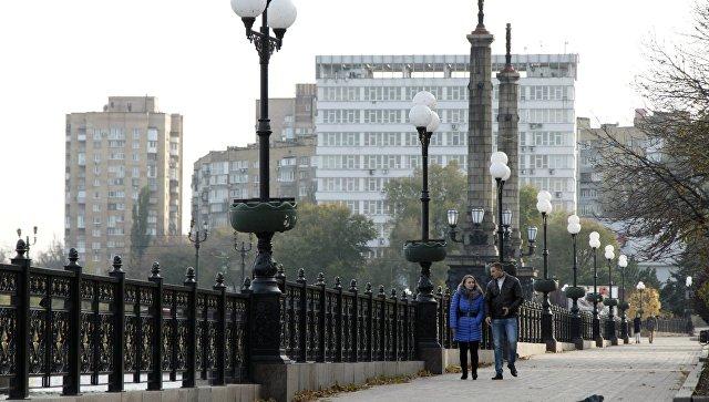 Набережная в Донецке. Архивное фото