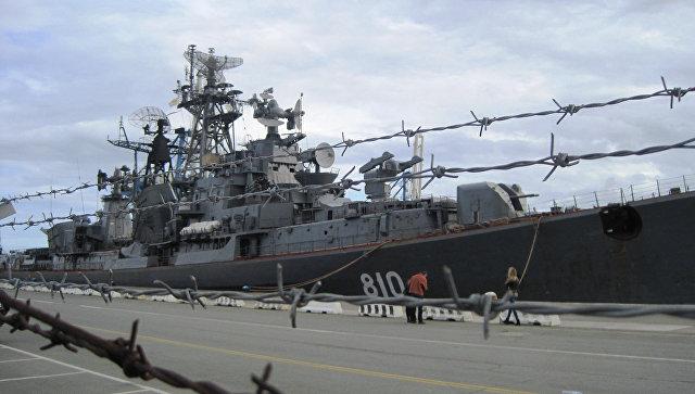 Российский сторожевой корабль Сметливый. Архивное фото