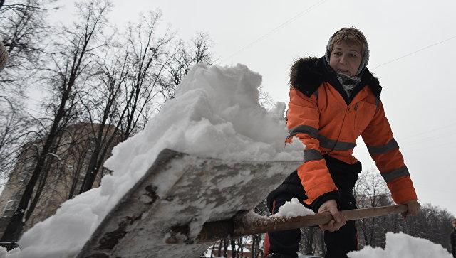 Тулеев будет лично сражаться собильными снегопадами