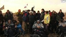 Экипаж 49-й экспедиции успешно приземлился в Казахстане после отстыковки от МКС