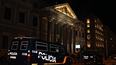 Полиция в Мадриде. Архивное фото
