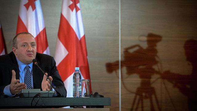 Президент Грузии наложил вето напринятый парламентом законодательный пакет