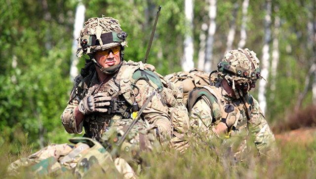 Великобритания увидела «руку Москвы» вхулиганском поведении собственных солдат