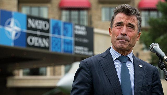 Прошлый генеральный секретарь НАТО Андерс Фог Расмуссен призвал США стать «мировым жандармом»