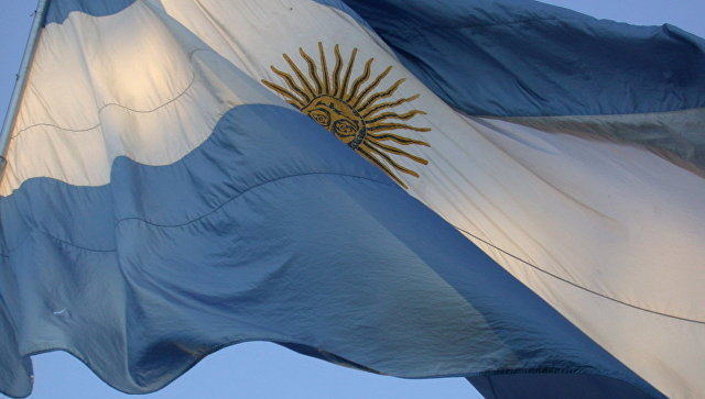 Флаг Аргентины. Архивное фото