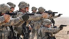 Американские военные. Архивное фото