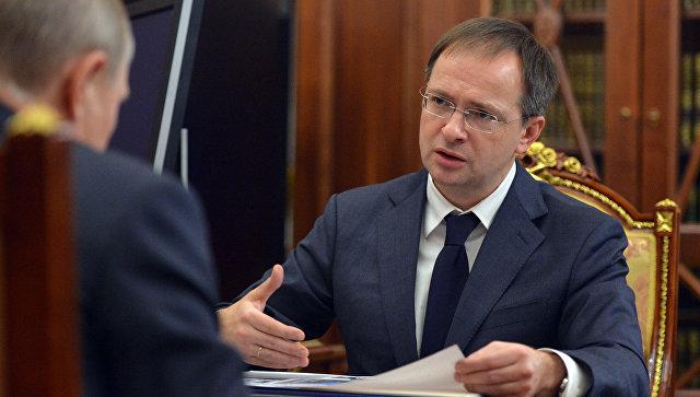 Мединский сказал Путину опроектах господдержки театральной инфраструктуры