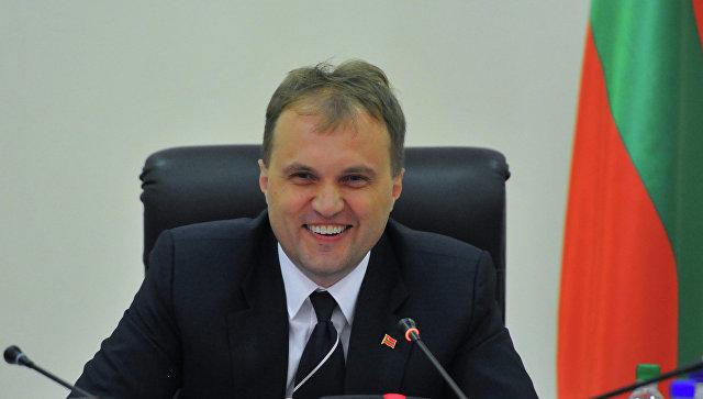 Прошлый президент Приднестровья Шевчук покинул республику