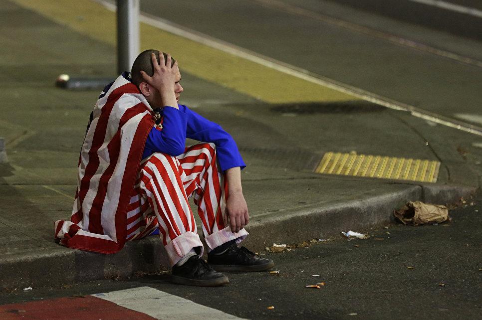 Протесты в Сиэтле после президентских выборов