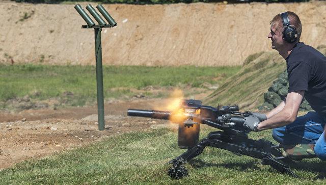 Автоматический станковый гранатомёт АГС-40 Балкан