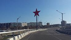 Подрыв памятника Звезда Победы в Луганске. Архивное фото