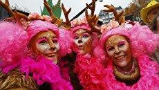 Карнавал в Кельне, Германия. 11 ноября 2016